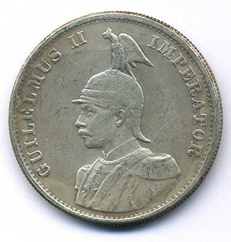 Münze 1893 Kolonien Deutsch Ostafrika Gesellschaft - 2 Rupien Kaiser Wilhelm II Replica
