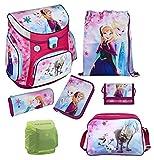 Disney die Eiskönigin Schulranzen Set 7tlg. Scooli Campus Up mit Sporttasche FRQA8252-GR