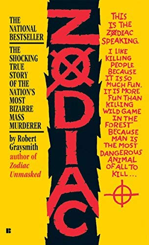 Zodiac Rei Mti edition by Graysmith, Robert (2007) Mass Market Paperback