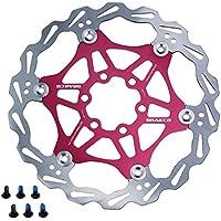 Nueva bicicleta flotante BRAKCO Coloful de alta calidad Rotor del freno de disco 160,180,203 mm Rojo rosso