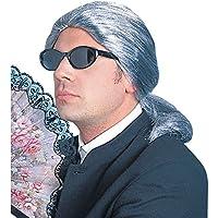 NET TOYS Parrucca guru della moda Karl Lagerfeld colore grigio parrucca di  carnevale stilista parruca per be7cf86c036a