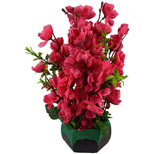 Fancy Mart Artificial Cherry Blossom Flowers (Size 12 Inchs/ 30 cms) With...