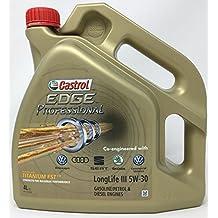 Aceite para motor Castrol Edge Professional LongLife III 5W-30, 4 litros (Nuevo envase 2018)