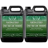Limpiador Dirtbusters antimaleza, de 5 litros, limpia el moho, el musgo, las algas y los líquenes; y es perfecto para patios, terrazas y vallas, verde