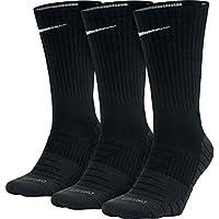 NIKE Nk Evry MAX 3Pr Calcetines de Entrenamiento, Unisex Adulto, Blanco (White/Wolf Grey/(Black), L