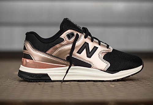 New Balance WL 1550 MC Metallic Rosegold Black nero oro
