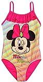 Minnie Costume da Bagno 1Pezzo Bambino Ragazza Disney Rosa/Verde di 4a 10Anni Rose 8 Anni