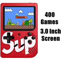 Jumpsy Sup Game Box 400 Classic Games/Color Full LED Screen/Hand Held Retro Gaming Console (Random Color)