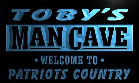 qf499-b Toby's Man Cave Patriots Country Vintage Pub Bar Neon