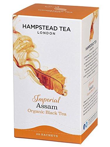 Hampstead Tea, Organic, Assam Tea, 20 Sachets, 1.41 oz (40 g)