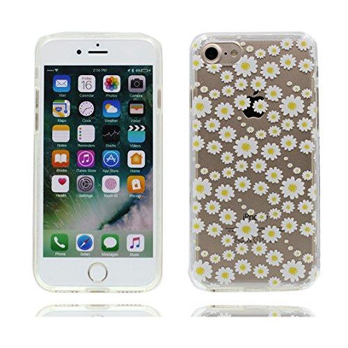 iPhone 7 Custodia, Visualizza chiaro Ultra sottil Silicone Cover Shell Semplice Progettato per iPhone 7 Copertura (4.7 pollici), iPhone 7 Case - Fenicottero color 9