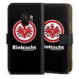 DeinDesign Samsung Galaxy S9 Tasche Leder Flip Case Hülle Eintracht Frankfurt Fanartikel Fußball Wappen