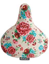 Basil - Funda para sillín de bicicleta, diseño floral