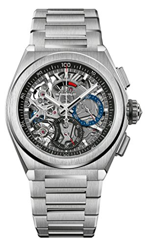 Zenith Defy El Primero 21 - Reloj de Esqueleto de Titanio para Hombre, 44 mm, 95.9000.9004/78.M9000