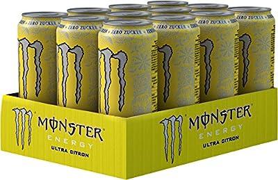 Monster Ultra Citron, 12er Pack (12 x 500 ml)