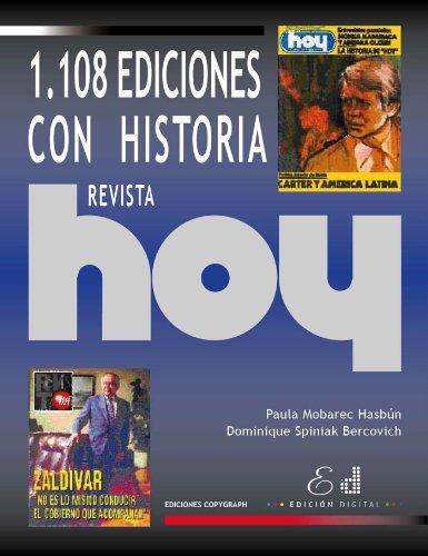 Revista Hoy: 1.108 Ediciones con Historia por Paula Mobarec Hasbún