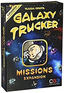 Czech Games Edition CGE00035 Nein Galaxy Trucker: Missions, Spiel, Mehrfarbig (B004BCGVTM) | Amazon price tracker / tracking, Amazon price history charts, Amazon price watches, Amazon price drop alerts