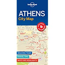 Athens City Map: EASY-FOLD & WATERPROFF / WALKING TOUR / TRAVEL TIPS / MUST-SEE HIGHLIGHTS