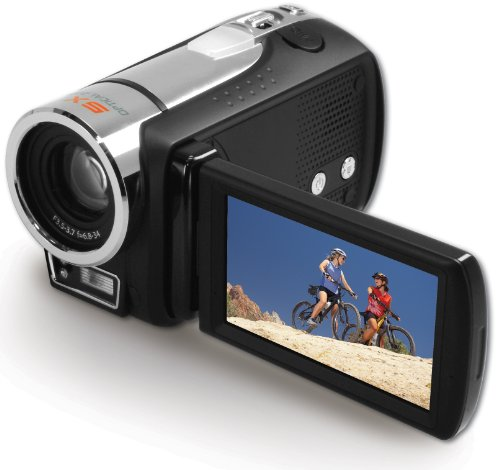 Aiptek H5extreme Camcorder (7,6 cm (3 Zoll) Display, Full- HD, SDHC/SD/MMC-Card, 5-fach opt. Zoom, 128 MB)