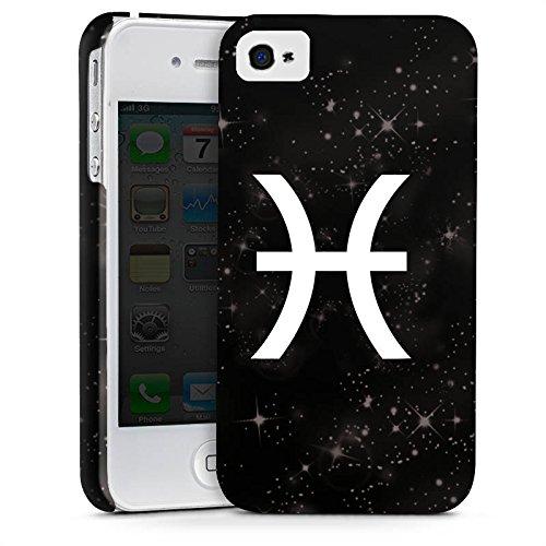 Apple iPhone X Silikon Hülle Case Schutzhülle Fische Sternzeichen Astrologie Premium Case glänzend