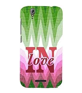 EPICCASE in love Mobile Back Case Cover For Acer Liquid Z630 (Designer Case)