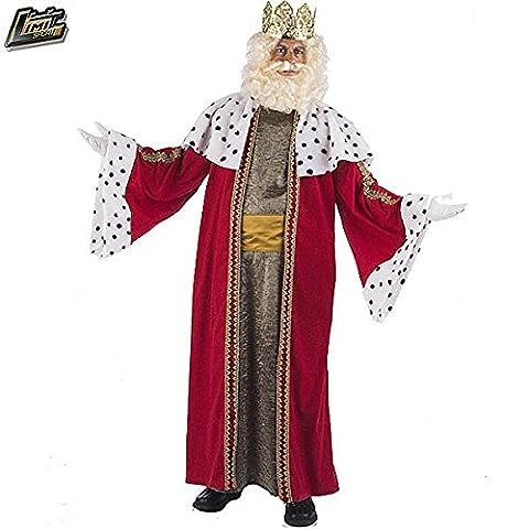 Heilige Drei Könige Melchior-Kostüm für Erwachsene L (Krippenspiel König Kostüm)