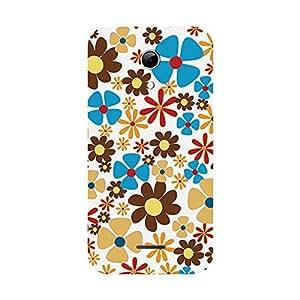 Garmor Designer Plastic Back Cover For Micromax A114 Canvas