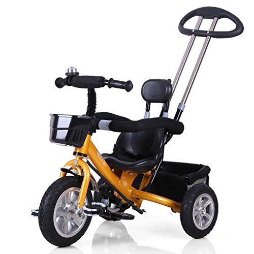 QWM-Baby Kinderfahrräder Männer und Frauen Baby 1-5-jährige dreirädrige Bike/Kinderspielzeug Pedal Kindergeschenk-QWM (Farbe : D)