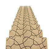 LIXIONG Europäischer Stil Treppenstufenmatte Walker Rutschfest Selbstklebend Mehrzweck, 5 Größen,...