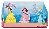 Bullyland 13245 - Disney Prinzessinnen in Geschenk Box Spielfigurenset, 3 teilig