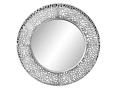 DonRegaloWeb-Espejo-de-pared-redondo-de-metal-calado-en-color-plateado