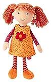 sigikid, Mädchen, Kleine Stoffpuppe, sigidolly, Orange/Rot, 40908
