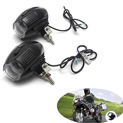 V/a Spur-anschluss (20W LED-Nebelscheinwerfer Scheinwerfer mit Fokus-Funktion, USB-Anschluss DC 9V-85V Wasserdicht)