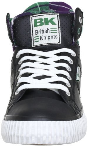 British Knights ATOLL B31-3713, Sneaker uomo Nero (Schwarz (black/purple 4))