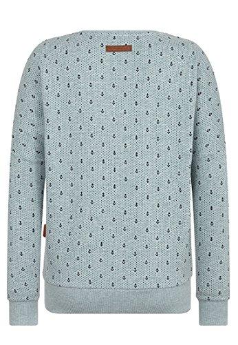 Naketano Female Sweatshirt Jane Forensik Wiederkäuer Grün Melange