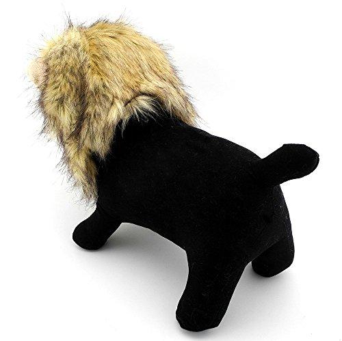 zunea Haustier Kleidung Apparel für kleine Hunde Katzen Löwe Mähne Kostüm Perücke Hat Festival Party Fancy - Adult Cocker Spaniel Kostüm