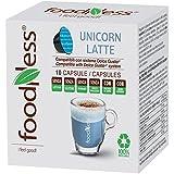 Foodness Capsula Unicorn Latte - Pacco da 10 x 140 g