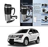 #5: AutoStark Car Heater Mug With Car/USB Charger 500 ML Electric Kettle For Mahindra Xuv 500