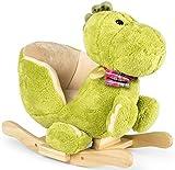 Dino à Bascule En Peluche Douce, Pour Enfant, Bebe, Animaux, Dinosaur Cheval à...