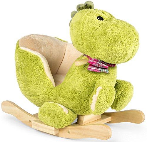 Dino à bascule en peluche douce, pour enfant, bebe, animaux, dinosaur