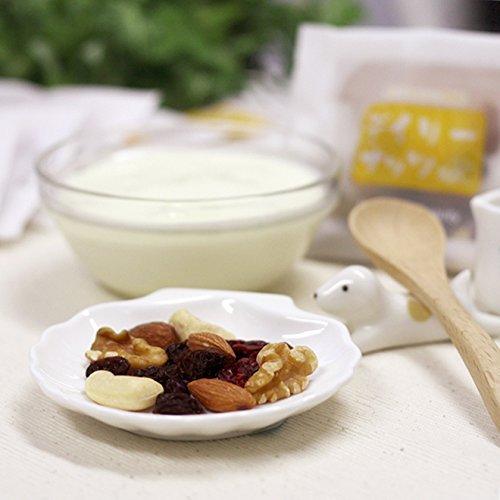 Sacchetto Mixed Nuts Yogumeito (profumo non salato conservanti senza additivi non viene utilizzato cinque noci misti e frutta secca mandorle noci di anacardi uva passa mirtilli 15gx14 borse 210g)