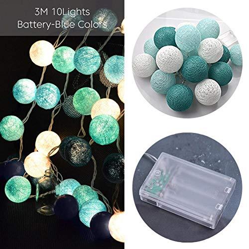 Teabelle luces Decoración habitación LED Guirnalda
