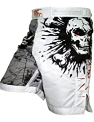 Pro lucha engranaje MMA, UFC MMA Grappling Fusion Stretch, formación, Shorts, mediano