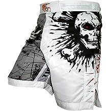Tigon Sports Pro Fight Gear - Pantalones cortos para deportes de lucha y artes marciales mixtas Talla:large
