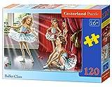Castorland B-13036-1 - Puzzle - Petites Ballerines - 120 Pièces