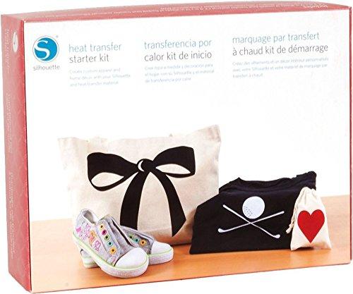 Silhouette Portrait Bundle Starter Kit Heißtransfer (Textilvered - 4