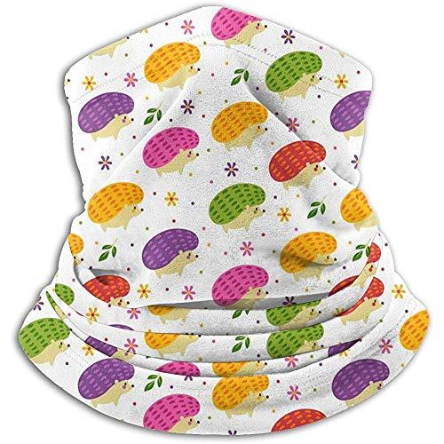 Tonesum fascia collo foulard,sciarpa tubolare,multiuso fascia,fascia per capelli all'aperto riccio carino colorato,passamontagna elastico,copricapo morbido,cappelli invernali con cappuccio
