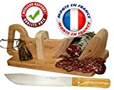 Guillotine à saucisson Traditionnel LE BERGER + Couteau à Pain Offert