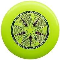 "Discraft Ultra-Star 175g Ultimate Frisbee ""Starburst"" - amarillo"