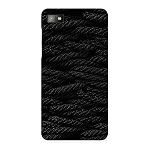Gorgeous Rope Pattern Back Case Cover for Blackberry Z10